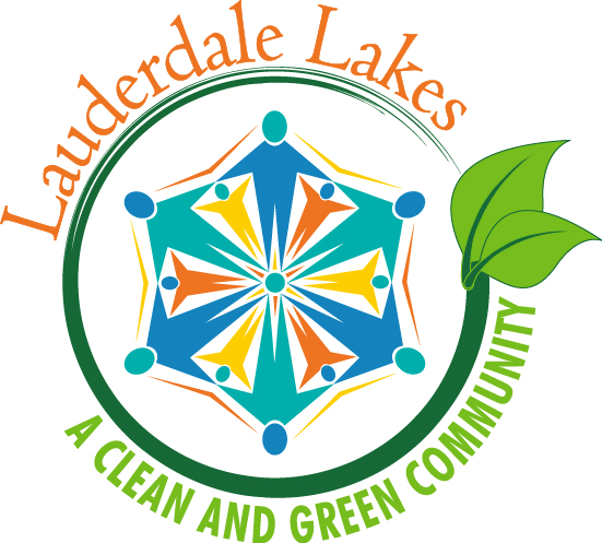Lauderdale Lakes Clean and Green Logo