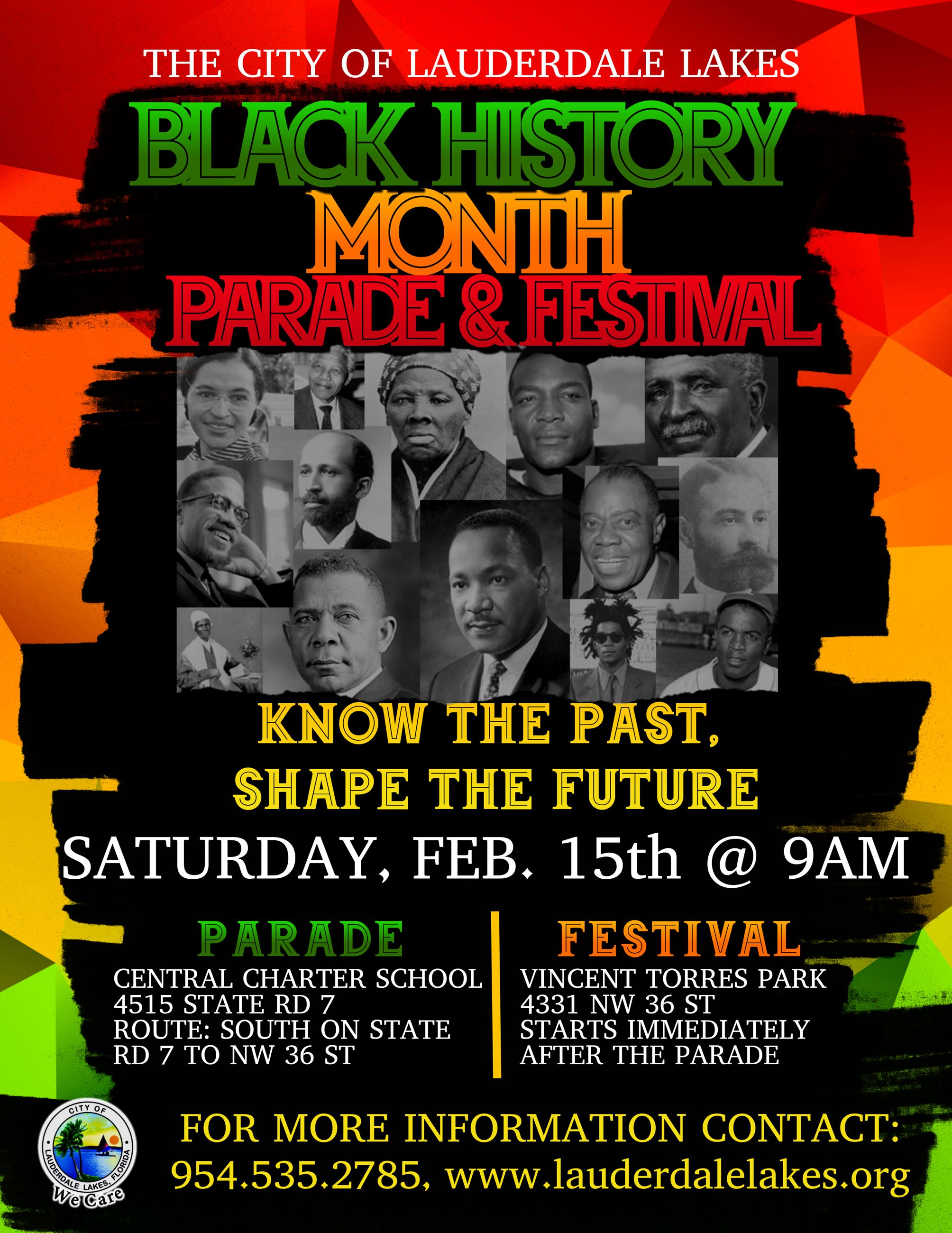 Black History Month Flyer 2020