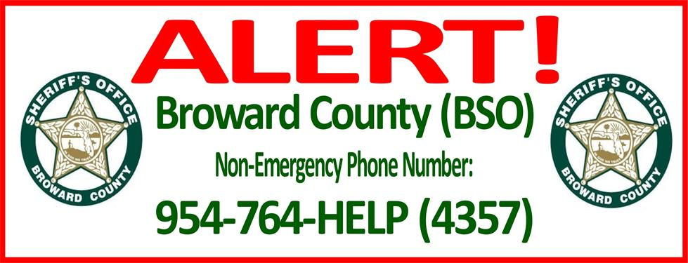 BSO non emergency number