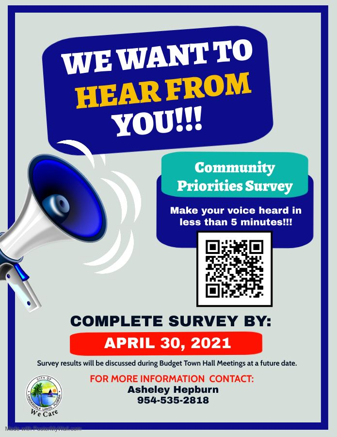 Community Priorities Survey