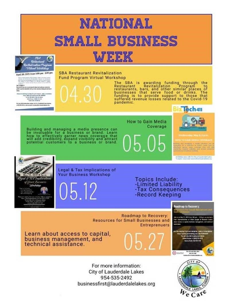 National Small Business Week