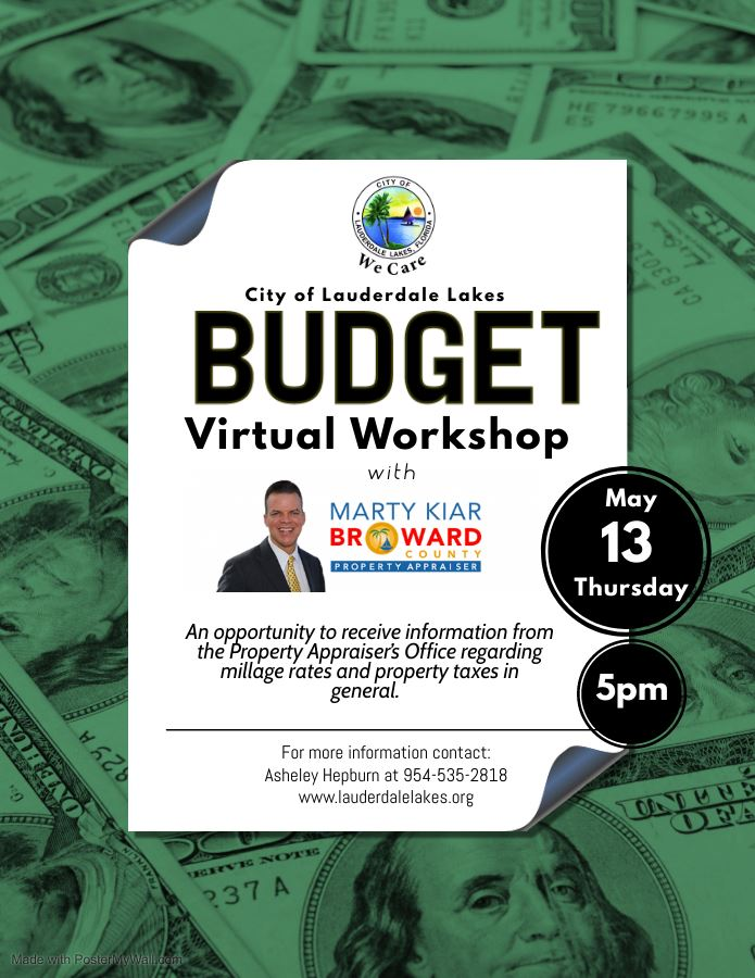 Budget Workshop with Marty Kiar